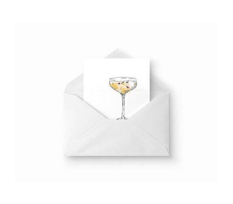 """""""Champagne"""" Card by Evi Jane"""