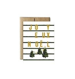 """""""Joyeux Noel"""" Card by Ferme à Papier"""