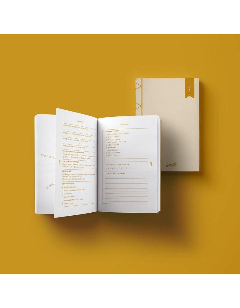Coffees Pocket Notebook by Kayé