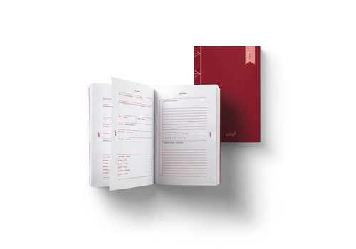 Wines Notebook by Kayé