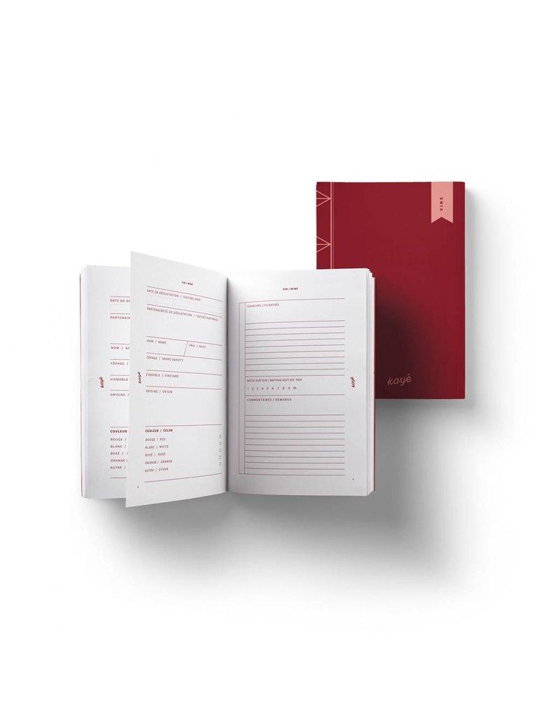 Wines Notebook by Kayé