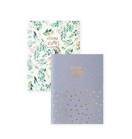 Duo de mini cahiers par Blushing Confetti