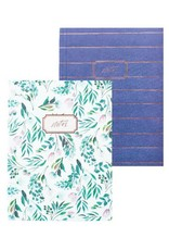 Set of 2 Notebooks by Blushing Confetti