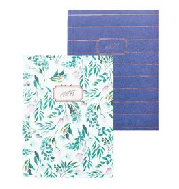 Set of 2 Notebooks by Blushing Confetti