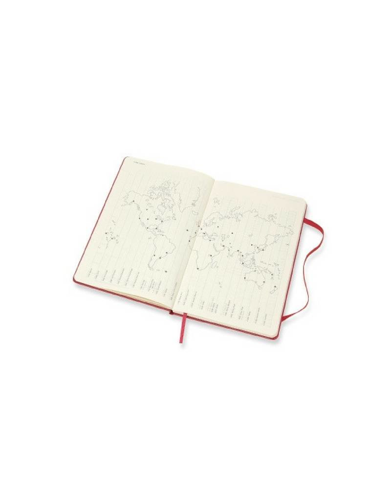 2018 Weekly Diary by Moleskine - Framboise