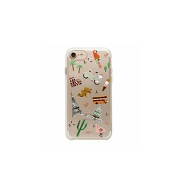 Rifle Paper Co. Clear Wanderlust IPhone 7 Case by Rifle Paper Co.