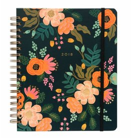 Rifle Paper Co. Agenda 17 mois Lively Floral Spiral  par Rifle Paper Co.