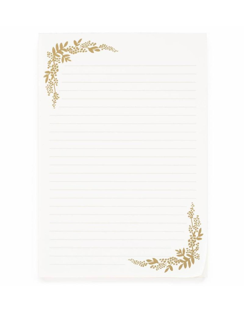 Rifle Paper Co. Papier à lettre Mint Birch Monarch par Rifle Paper Co.