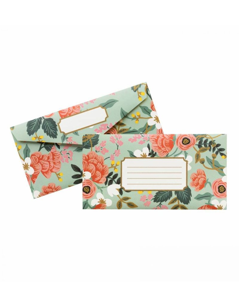 Rifle Paper Co. Enveloppes Mint Birch Monarch par Rifle Paper Co.