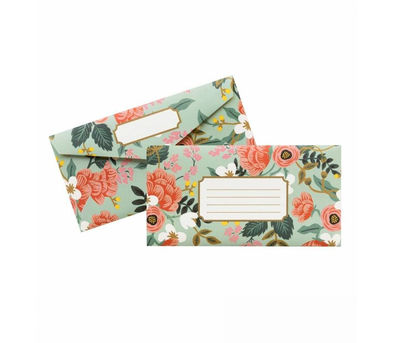 Enveloppes Mint Birch Monarch par Rifle Paper Co.
