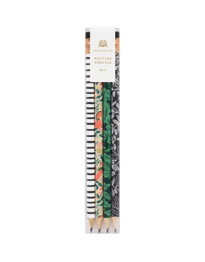 Rifle Paper Co. Crayons à mine Folk par Rifle Paper Co.