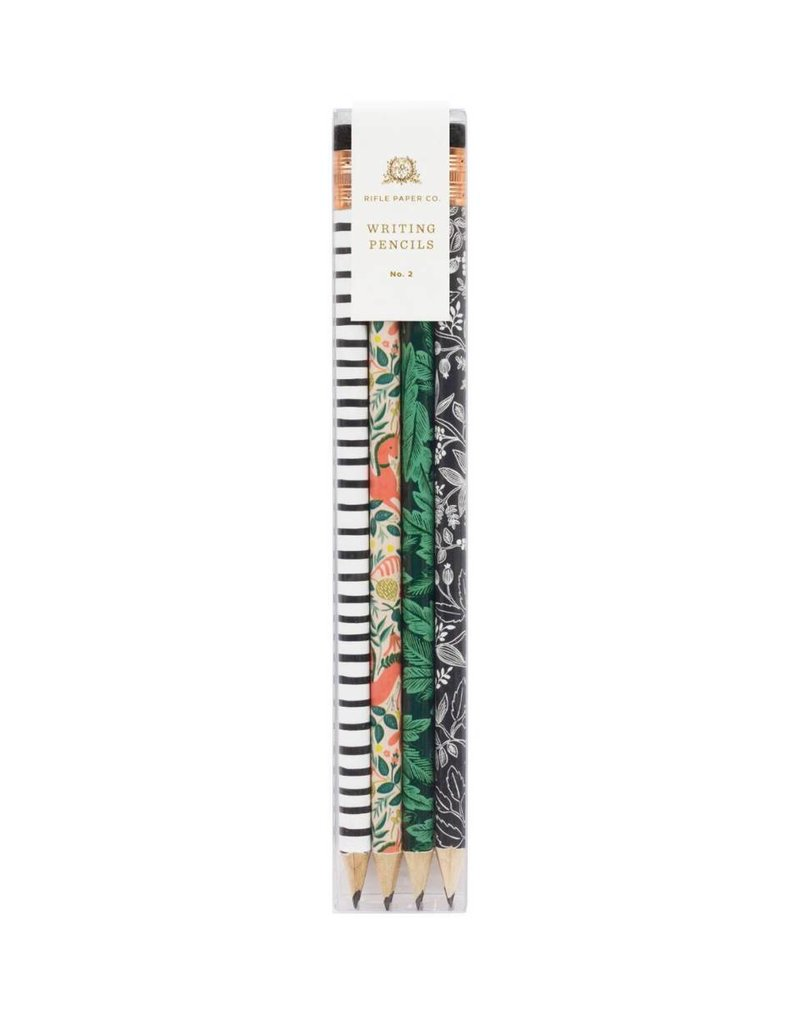 Rifle Paper Co. Folk Writing Pencils by Rifle Paper Co.