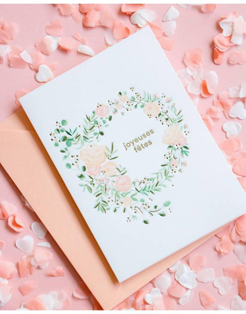 """""""Joyeuses fêtes"""" par Boucle & Papier et Papier Velours"""