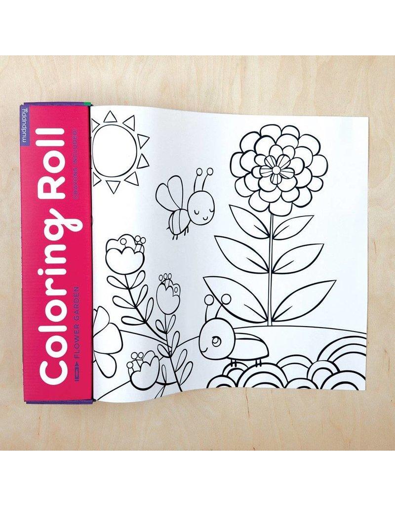Mudpuppy - Coloring Roll - Flower Garden