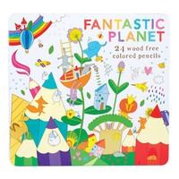 Crayons à colorier Fantastic Planet par OOLY