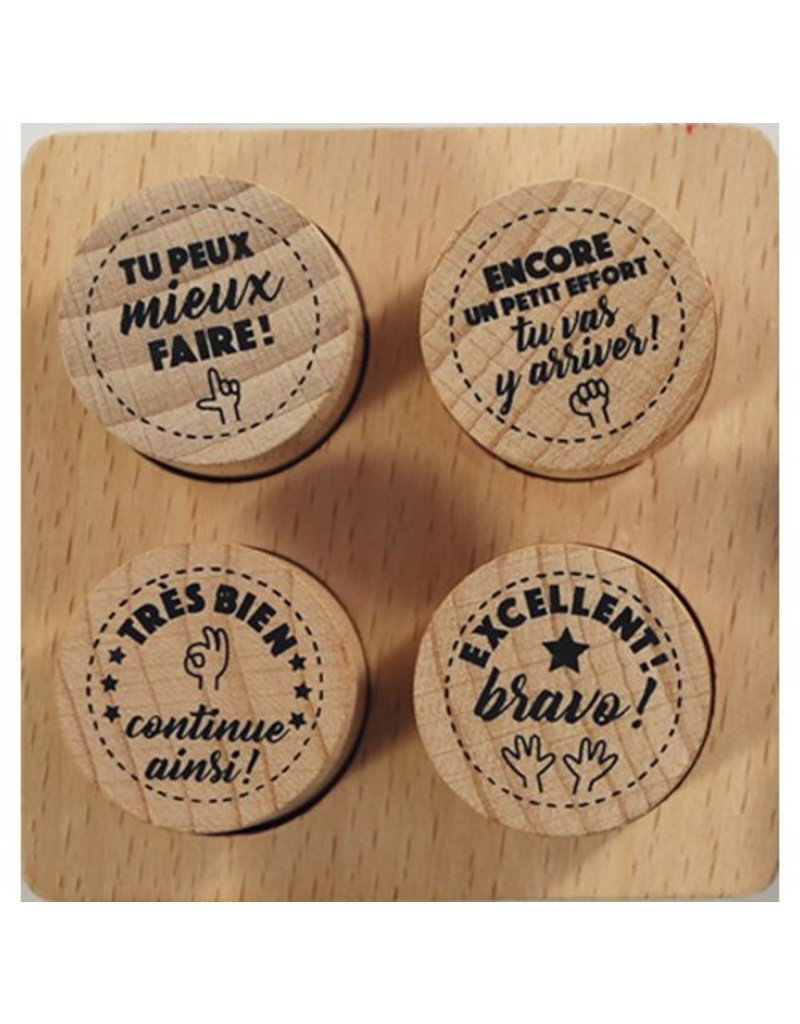Teachers stamps by Avenue Mandarine