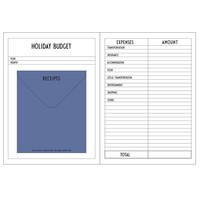 Budget Notebook by Design Letters