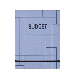 Design Letters Cahier de budgets par Design Letters