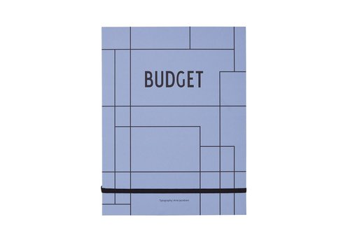 Design Letters Budget Notebook by Design Letters