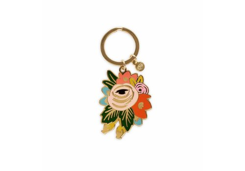 Rifle Paper Co. Rosa Keychain by Rifle Paper Co.