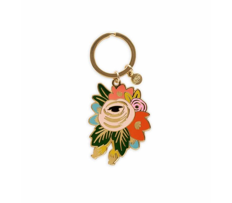 Rosa Keychain by Rifle Paper Co.