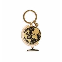 Globe Enamel Keychain by Rifle Paper Co.