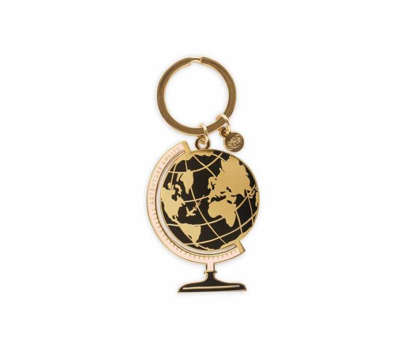 """Porte-clés """"Globe"""" par Rifle Paper Co."""