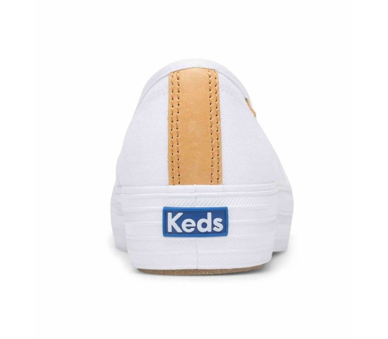 Souliers Keds X Rifle Paper Co. Triple Decker Lively Emroided