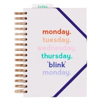 "Agenda ""Monday Blink"" par Yes Studio"