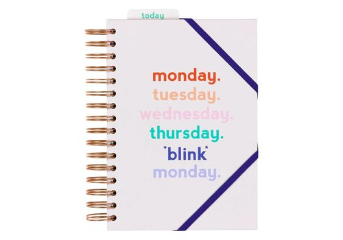 "Yes Studio Planner ""Monday Blink"" by Yes Studio"