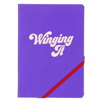 "Carnet A5 ""Winging It"" par Yes Studio"