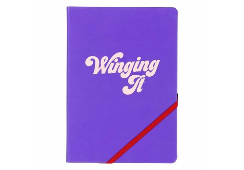 "A5 ""Winging It"" Notebook by Yes Studio"