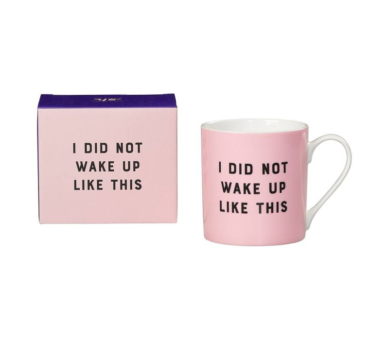 """I Did not"" mug by Yes Studio"