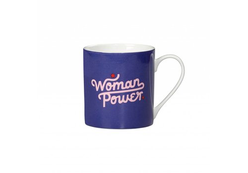 "Yes Studio ""Woman Power"" Mug by Yes Studio"
