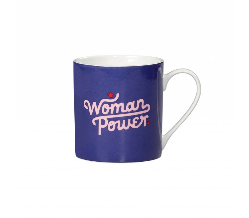 """Woman Power"" Mug by Yes Studio"