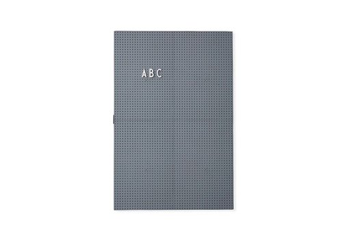 Design Letters Message Board A3 in Grey by Design Letters