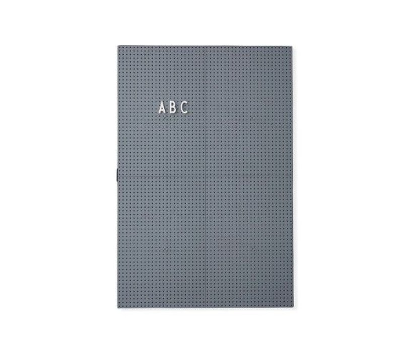 Message Board A3 in Grey by Design Letters
