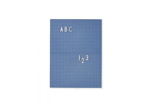 Design Letters Message Board A4 Bleu par Design Lettres