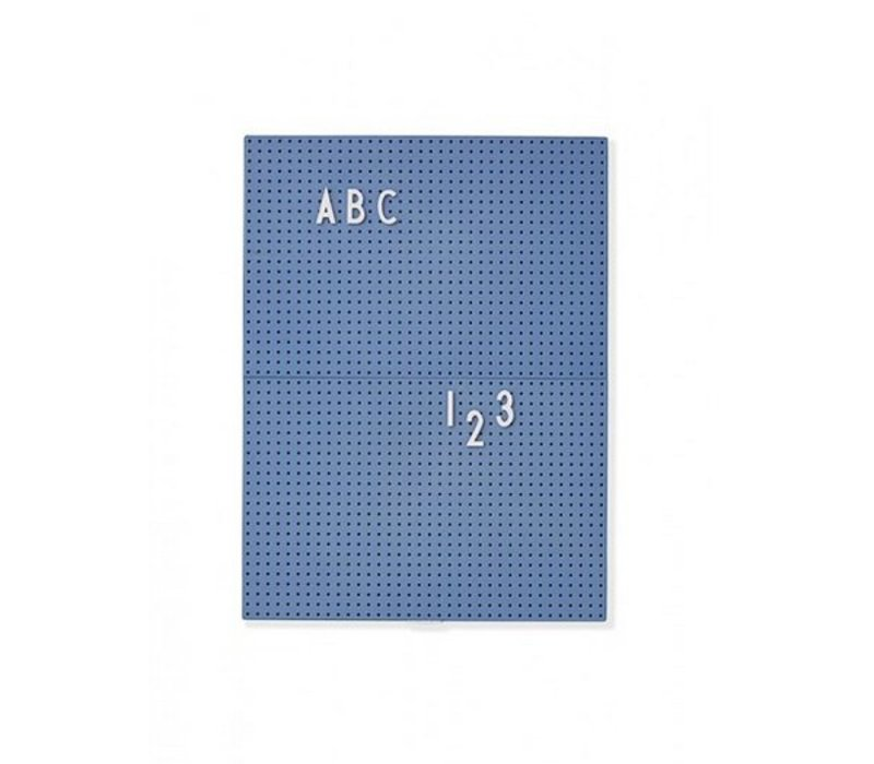 A4 Blue Message Board by Design Letters