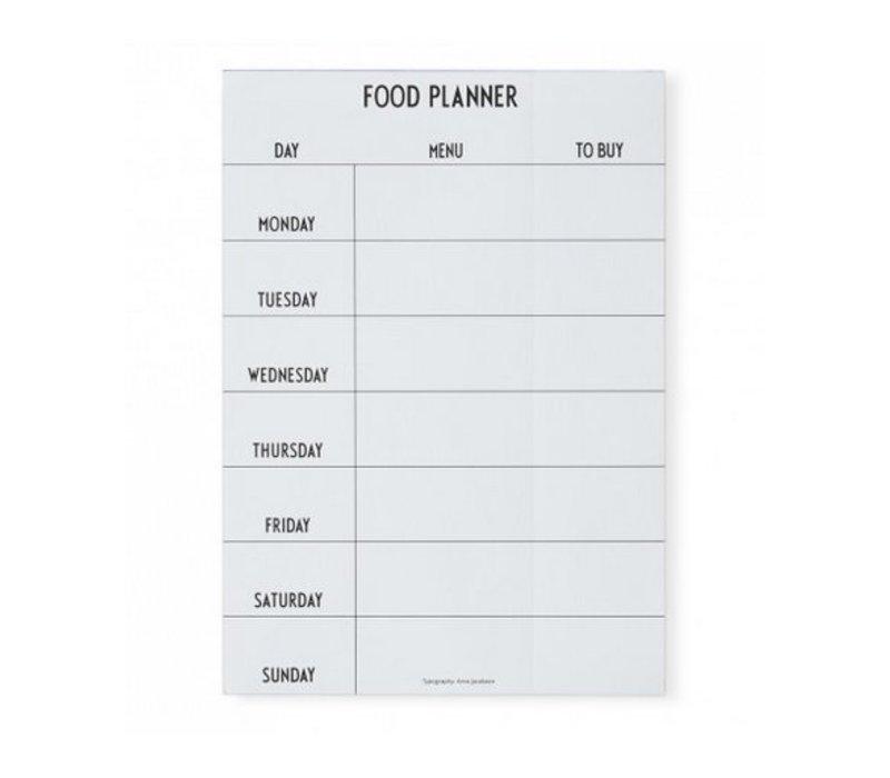 Planificateur Alimentaire par Design Letters