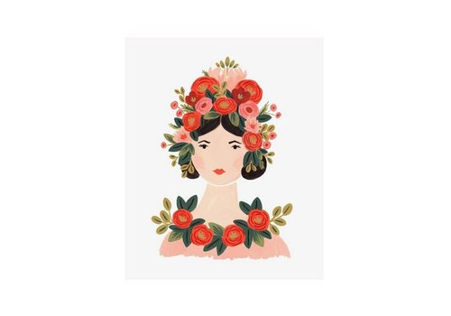 Rifle Paper Co. Rosa Print 8 x 10 by Rifle Paper Co.