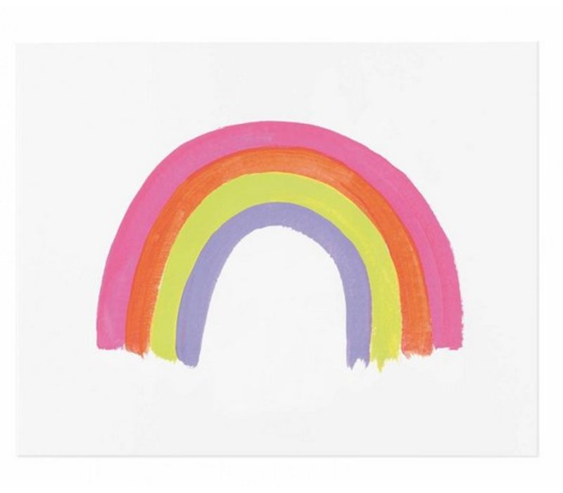 Rainbow Print 8 x 10 by Rifle Paper Co.