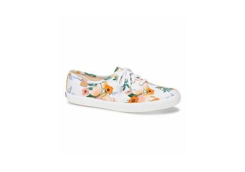 Keds x Rifle Paper Co. Souliers Keds X Rifle Paper Co. Champion Lively Floral Blanc