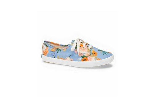 "Keds x Rifle Paper Co. ""Champion Lively Floral"" Periwinkle par Keds X Rifle Paper Co."