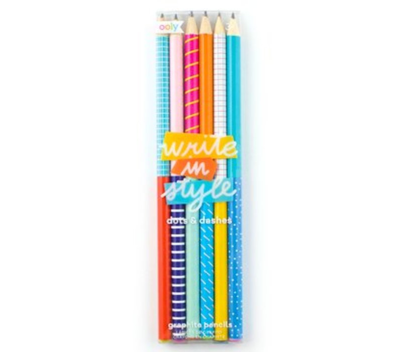 Graphite Pencils  by Ooly