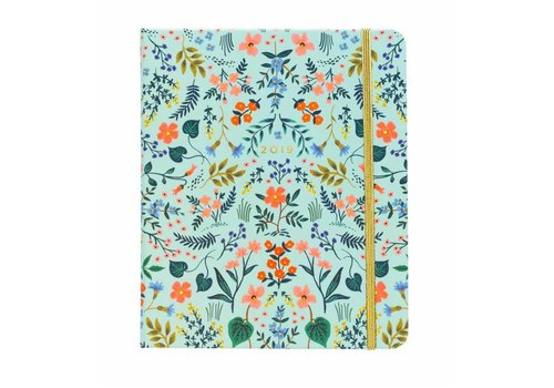 Rifle Paper Co. 2019 Covered Spiral Wildwood Planner by Rifle Paper Co