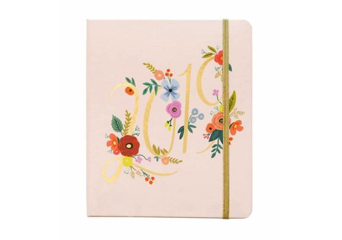 "Rifle Paper Co. Agenda Spirale Couverte 2019  ""Bouquet"" par Rifle Paper Co"