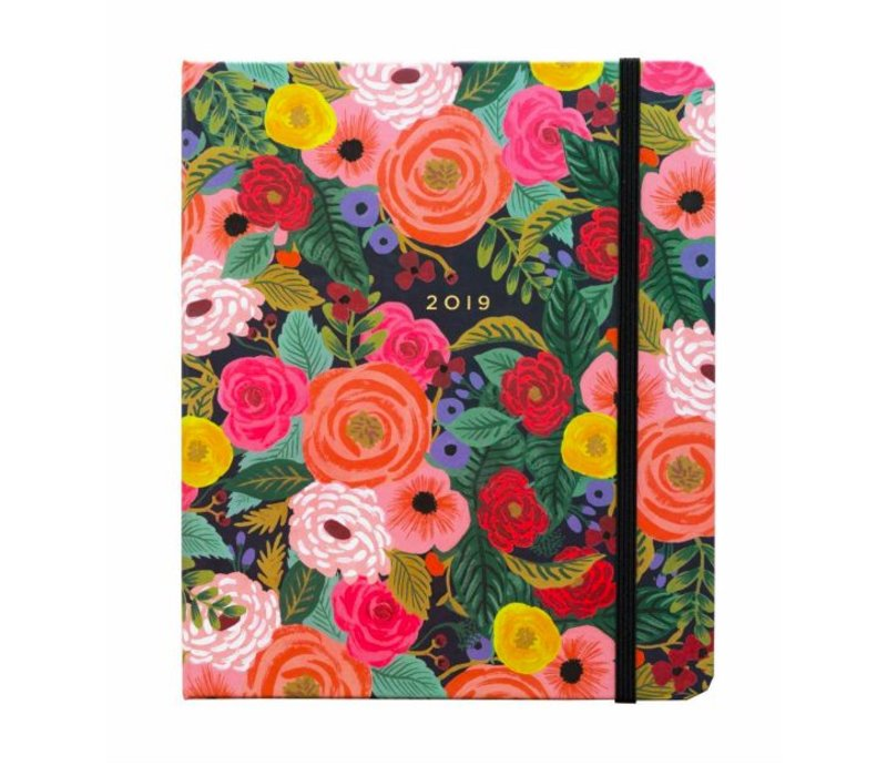 "Agenda Spirale Couverte 2019 ""Bouquet"" par Rifle Paper Co"