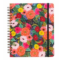 "Grand Agenda Spirale 2019 ""Juliet Rose"" par Rifle Paper Co"