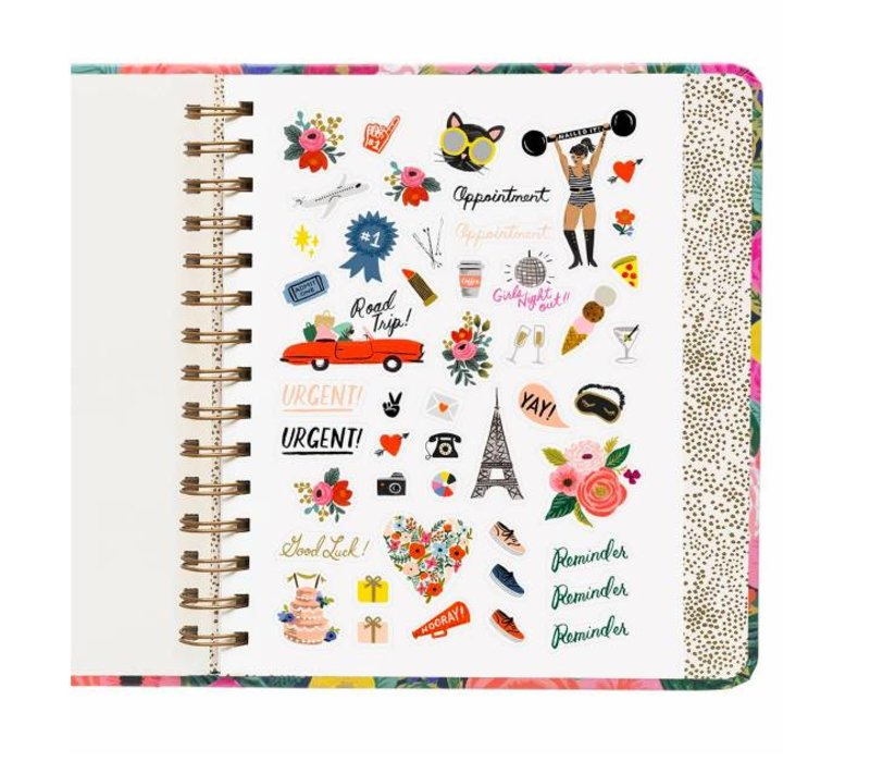 2019 Covered Spiral Juliet Rose Planner by Rifle Paper Co